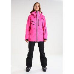 The North Face LOSTRAIL Spodnie narciarskie black. Różowe bryczesy damskie marki The North Face, m, z nadrukiem, z bawełny. W wyprzedaży za 616,85 zł.