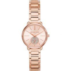 Zegarek MICHAEL KORS - Portia MK3839 Rose Gold/Rose Gold. Czerwone zegarki damskie Michael Kors. Za 1050,00 zł.