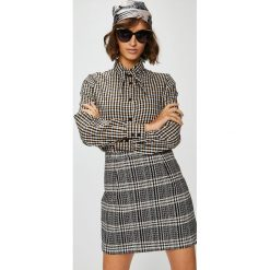 Medicine - Koszula Suffron Spice. Szare koszule damskie MEDICINE, l, z bawełny, casualowe, z długim rękawem. W wyprzedaży za 49,90 zł.