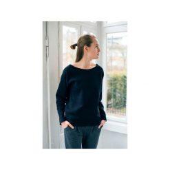 Bluzy damskie: OVAL BLACK bluza oversize