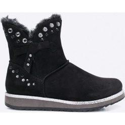 Marco Tozzi - Botki. Czarne buty zimowe damskie marki Mohito, na obcasie. W wyprzedaży za 129,90 zł.