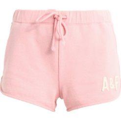 Bermudy damskie: Abercrombie & Fitch SUN FADE LOGO  Szorty dark pink
