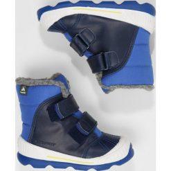 Buty zimowe damskie: Kamik PARKER Śniegowce blue