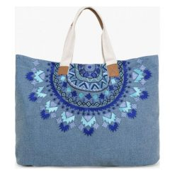 Desigual Torebka Damska Niebieski Altea Turner. Niebieskie torebki klasyczne damskie marki Desigual. W wyprzedaży za 211,00 zł.