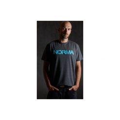 T-shirt Blue. Szare t-shirty męskie z nadrukiem Norma, xl. Za 75,00 zł.