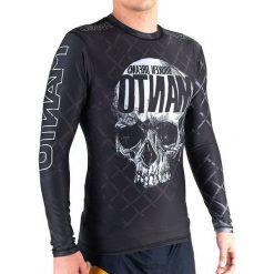 Koszulki sportowe męskie: Manto Koszulka męska Rashguard Skull czarna r. M
