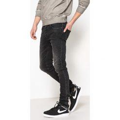 Dżinsy slim. Szare jeansy męskie slim marki La Redoute Collections. Za 176,36 zł.
