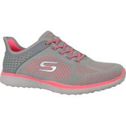 Buty sportowe damskie: Skechers Buty damskie Microburst szaro-różowe r. 37 (23327-GYCL)