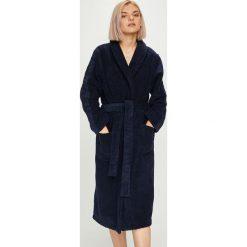 Calvin Klein Underwear - Szlafrok. Czarne szlafroki kimona damskie Calvin Klein Underwear, l, z bawełny. Za 399,90 zł.