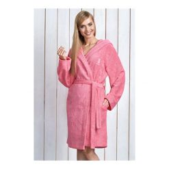 Szlafrok Alba Różowy. Czerwone szlafroki kimona damskie L&L, l, z włókna. Za 159,90 zł.