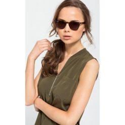 RayBan Okulary przeciwsłoneczne havana. Brązowe okulary przeciwsłoneczne damskie aviatory Ray-Ban. Za 519,00 zł.