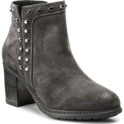 Botki LASOCKI - A212 Szary. Szare buty zimowe damskie Lasocki, ze skóry, na obcasie. W wyprzedaży za 115,00 zł.