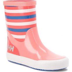 Kalosze dziewczęce: Kalosze HELLY HANSEN – Nordvik Stripe 114-11.103 Shell Pink/Cayenne/Blue Water/Off White/Reflective (Shiny)
