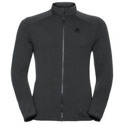 Odlo Bluza damska Midlayer full zip SIERRA ZIP IN czarna r. XL (527932). Czarne bluzy sportowe damskie marki Odlo, xl. Za 271,27 zł.