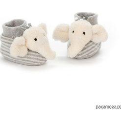 Buciki ze słonikiem 10 cm. Szare buciki niemowlęce chłopięce marki Pakamera. Za 125,00 zł.