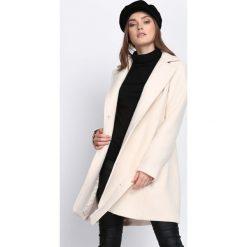 Płaszcze damskie: Beżowy Płaszcz Heartbeats