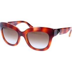 """Okulary przeciwsłoneczne damskie aviatory: Okulary przeciwsłoneczne """"V693S"""" w kolorze brązowym"""