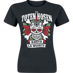 Die Toten Hosen Hasta La Muerte Koszulka damska czarny. Czarne bluzki asymetryczne Die Toten Hosen, m. Za 79,90 zł.