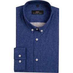 Koszula MICHELE 2 16-08-09-K. Niebieskie koszule męskie jeansowe marki Giacomo Conti, m, button down. Za 229,00 zł.