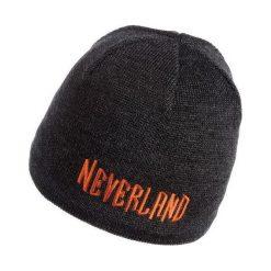Czapki męskie: NEVERLAND Czapka męska Pure czarno-pomarańczowa (P-04-PURE-736-UNI)