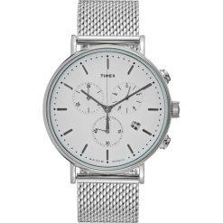 Timex THE FAIRFIELD Zegarek chronograficzny white/silvercoloured. Szare zegarki męskie Timex. W wyprzedaży za 458,10 zł.
