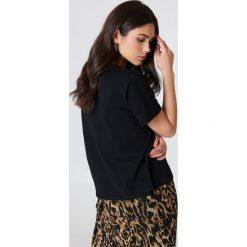 NA-KD T-shirt Lemon - Black. Czarne t-shirty damskie NA-KD, z nadrukiem, z bawełny. Za 72,95 zł.