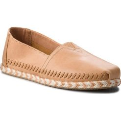 Espadryle damskie: Espadryle TOMS – Classic 10011661  Honey Leather
