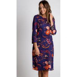 Sukienki: Sukienka z kieszeniami i wiązaniem na plecach BIALCON