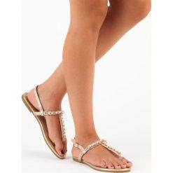 PAISLEE sandały japonki. Żółte sandały damskie marki Kazar, ze skóry, na wysokim obcasie, na obcasie. Za 49,99 zł.