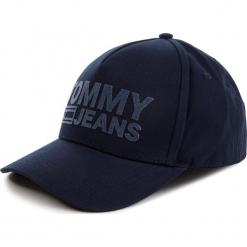 Czapka z daszkiem TOMMY JEANS - Tju Flock Cap AU0AU00364 496. Niebieskie czapki z daszkiem męskie Tommy Jeans. Za 179,00 zł.