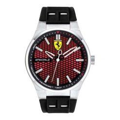 """Zegarki męskie: Zegarek """"SF-0830353-SPECIALE"""" w kolorze czarno-czerwonym"""