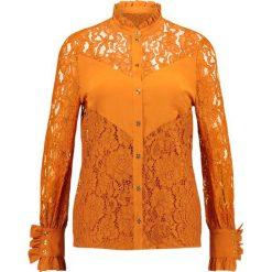Baum und Pferdgarten MAITANE Bluzka sudan brown. Czarne bluzki damskie marki Fille Du Couturier, z bawełny. W wyprzedaży za 527,40 zł.