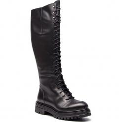 Kozaki GINO ROSSI - Nam DKI132-BG8-E100-9900-F 99. Czarne buty zimowe damskie Gino Rossi, ze skóry, na obcasie. Za 829,90 zł.