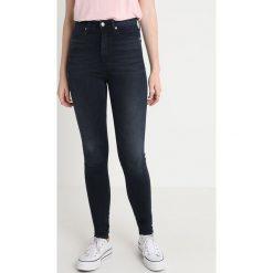 Calvin Klein Jeans CKJ 010 HIGH RISE SKINNY  Jeans Skinny Fit milan blue black. Niebieskie jeansy damskie relaxed fit Calvin Klein Jeans, z bawełny. Za 549,00 zł.