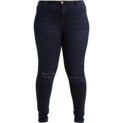 Dorothy Perkins Curve DARCY RIP  Jeans Skinny Fit blue/black. Niebieskie jeansy damskie Dorothy Perkins Curve. Za 139,00 zł.