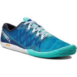 Buty MERRELL - Vapor Glove 3 J77718 Blue Sport. Niebieskie buty do biegania damskie marki Merrell, z materiału. W wyprzedaży za 249,00 zł.
