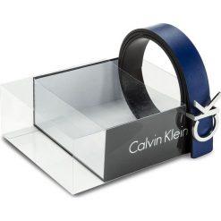Paski damskie: Pasek Damski CALVIN KLEIN BLACK LABEL – Ck Rev Belt Giftbox K60K604150 75 910