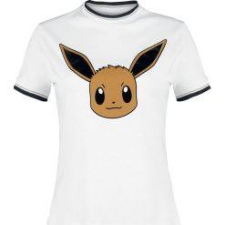 Pokemon Evoli Koszulka damska biały. Białe bluzki asymetryczne POKEMON, l. Za 99,90 zł.