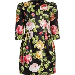 Sukienki dziewczęce: Love Made Love ROSES Sukienka koktajlowa schwarz/rosarot