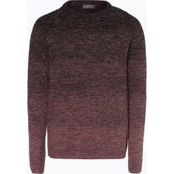 Swetry klasyczne męskie: Jack & Jones – Sweter męski – Jorfuel Knit Crew Neck Camp, czerwony