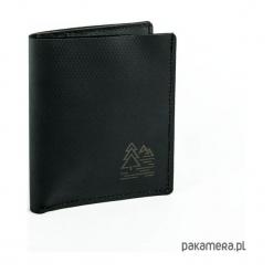 Super cienki portfel z gumy Hypalon - czarny. Czarne portfele damskie marki Pakamera. Za 89,00 zł.