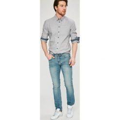 Blend - Koszula. Czarne koszule męskie na spinki marki TOM TAILOR DENIM, l, z bawełny, button down, z długim rękawem. W wyprzedaży za 89,90 zł.