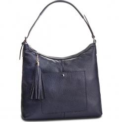 Torebka CREOLE - K10560 Granatowy. Niebieskie torebki klasyczne damskie Creole, ze skóry. W wyprzedaży za 219,00 zł.