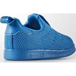 Adidas Originals STAN SMITH 360 SC I Tenisówki i Trampki shoblu. Niebieskie trampki chłopięce marki adidas Originals, z materiału. W wyprzedaży za 148,85 zł.