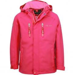 """Kurtka przeciwdeszczowa """"Femund"""" w kolorze różowym. Czerwone kurtki dziewczęce przeciwdeszczowe marki Trollkids. W wyprzedaży za 162,95 zł."""