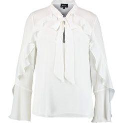 Bluzki asymetryczne: Bardot BOW FRILL Bluzka ivory