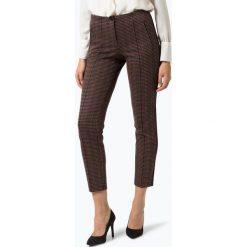 Cambio - Spodnie damskie – Ros, beżowy. Brązowe spodnie z wysokim stanem Cambio. Za 799,95 zł.