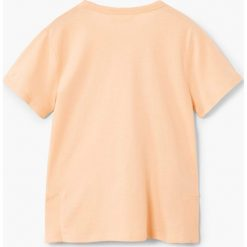 Mango Kids - T-shirt dziecięcy Contest 110-164 cm. Szare t-shirty chłopięce z nadrukiem marki bonprix, m, z dzianiny, z kontrastowym kołnierzykiem. W wyprzedaży za 19,90 zł.