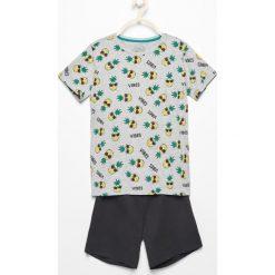 Dwuczęściowa piżama z szortami - Jasny szar. Szare bielizna chłopięca Reserved. W wyprzedaży za 24,99 zł.