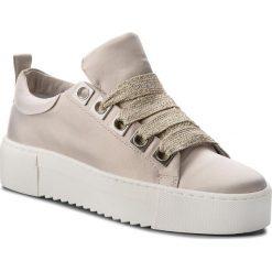 Sneakersy BRONX - 66121-A BX 1483 Champagne 2207. Czarne sneakersy damskie marki Bronx, z materiału. W wyprzedaży za 259,00 zł.